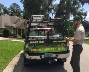 Snake Catcher Ryan Boyd of Jacksonville, FL
